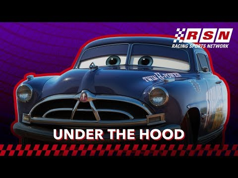 Under the Hood: Hudson Hornet | Racing Sports Network by Disney•Pixar Cars