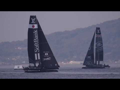 2016/11/18 Louis Vuitton America's Cup World Series Fukuoka (Practice)
