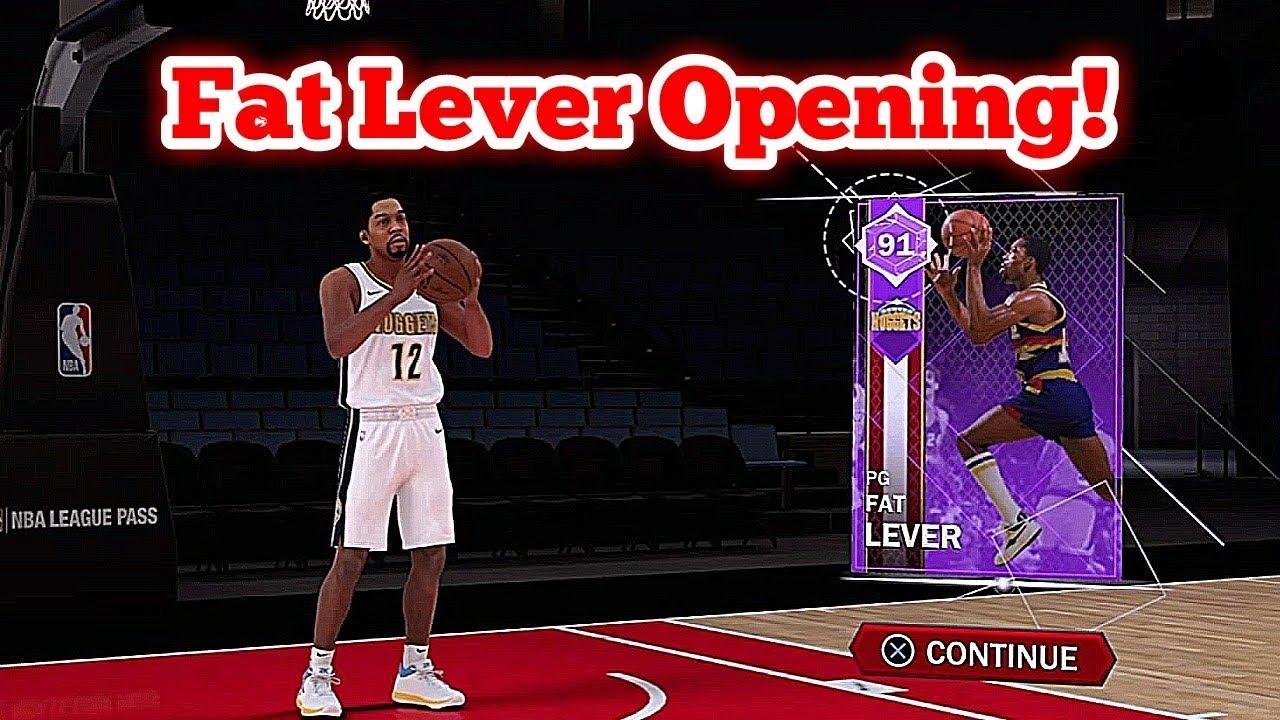 NBA 2K18 MyTeam Fat Lever Domination Reward