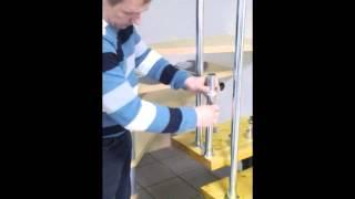 видео Перила и ограждения Плекси (Pleksi Line) с лед подсветкой, фото