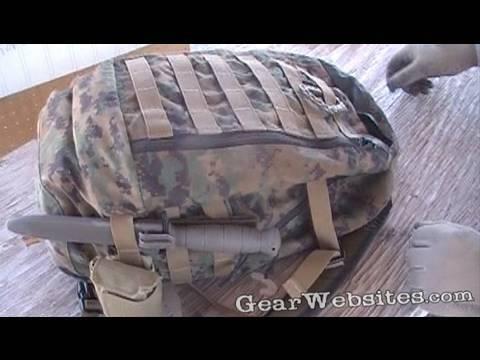 USMC ILBE Assault Pack - YouTube 9955ddb9d9