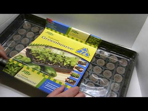 How to Use a Jiffy Greenhouse to Start Seeds