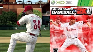 Roy Halladay vs Derek Jeter & the New York Yankees! - MLB 2K11 Gameplay