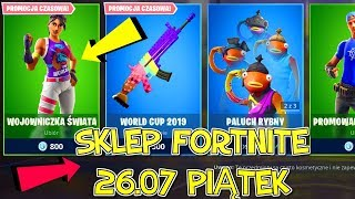 FORTNITE 26.07 STORE-NEW SKIN World Cup-World Warrior, Fish Fingers (bald), fun emoticons