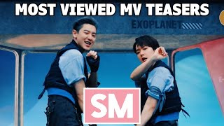 [TOP 100] Most Viewed SM MV Teasers (June 2021)