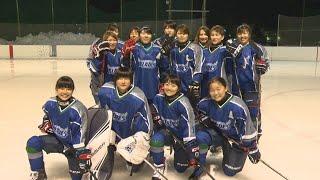 「クリスタルブレイズ」全日本選手権Bに向け練習.