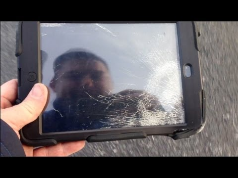 c4b67031c8 Extreme iPad Mini Roof Drop Test! (Griffin Survivor vs Otterbox Defender)