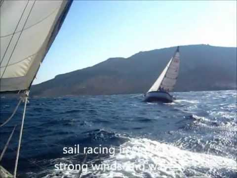 Aegean Sea sail racing