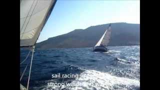 Aegean Sea sail racing