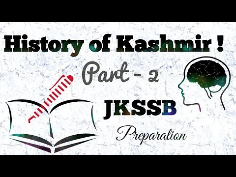 History of Kashmir | Part -2 | JKSSB | JKSSB Online Preparation !