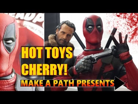 "MY FIRST ""HOT TOYS!"" DEADPOOL Movie MMS347 Unboxing & Review"