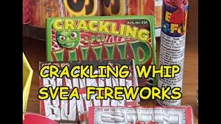 Svea Fireworks crackling whip x 2