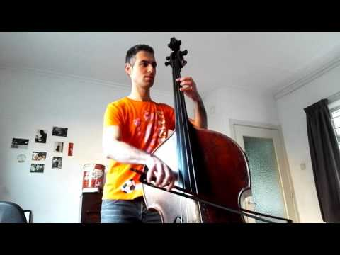 The Pink Panther Theme on Double Bass