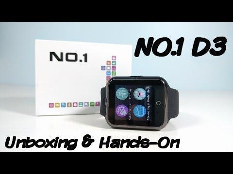 NO.1 D3 Smartwatch Unboxing & Hands-On - A $22 Smartwatch