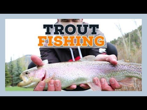 Trout Fishing Estes Park Colorado - Rocky Mountain Rivers