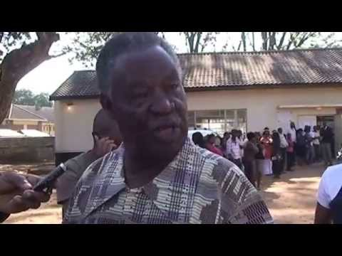 MICHAEL SATA'S NEAR FIST FIGHT WITH EDWARD MUMBI ON ELECTION DAY SEPTEMBER 20, 2011