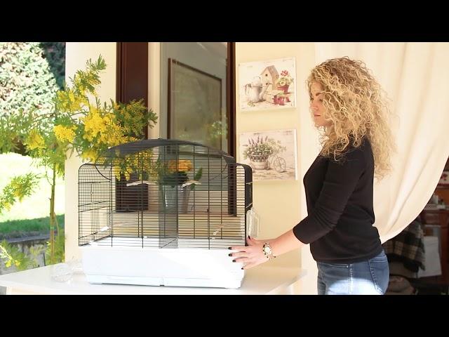 Ferplast bird cage  canto  video EN