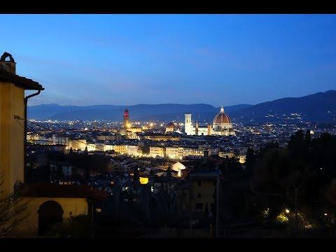 Firenze, Natale 2018  - 10 Minutes Of Beauty In 4K