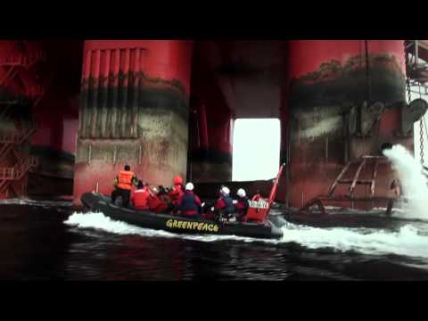 90 hours occupation of Transocean Spitsbergen
