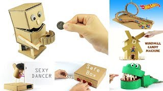 Top 10 Incredible Cardboard Videos in The World