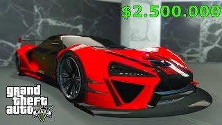 """GTA 5: NEUES $2.452.989 """"SUPER AUTO"""" MCLAREN ,""""PROGEN ITALI GTB"""""""
