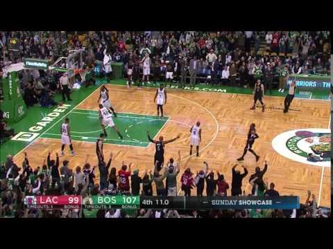 Paul Pierce Last Shot at TD Garden