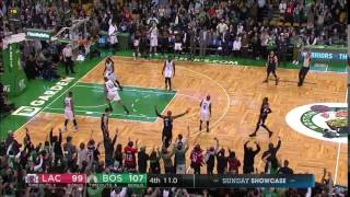 Paul Pierce Last Shot at TD Garden