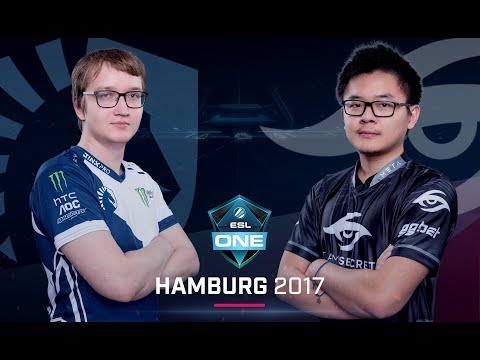 Team Liquid vs. Team Secret - ESL One Hamburg 2017 G2