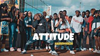ATTITUDE - Harmonize (Official Dance Video) ft  Awilo Longomba & H baba | Tileh Pacbro