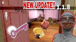 Evil Nun Halloween Update!!Version 1.1.8[Pink room revealed!!]