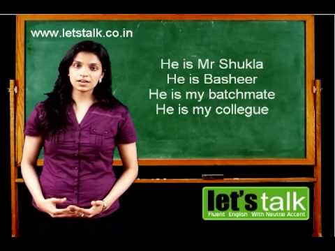 Functional English Grammar Part 2 - Lets Talk English Speaking & Personality Development Training