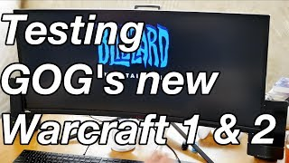 Testing GOG.com's Warcraft 1 & 2 on 2080 ti's on WIndows 10 and where to get your game key