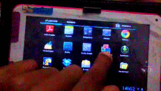 Umboxing do tablet stile tec