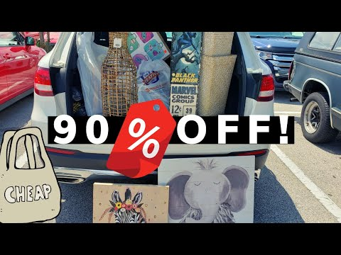 RUN! 90% off Clearance @ Hobby Lobby! No coupons needed.