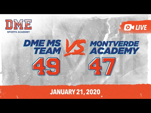 DME MS vs Montverde