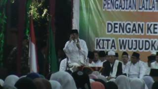 KH Hasyim Muzadi Doa Akhir Tahun Kota Semarang