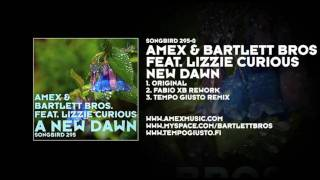Amex & Bartlett Bros featuring Lizzie Curious - New Dawn