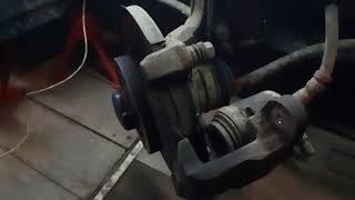 Замена передних тормозных колодок Ваз 2109/2108/2199/2114/2113/2115