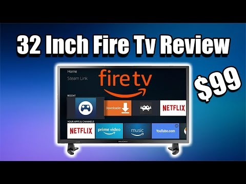 32 Inch Amazon Fire Smart TV Review Insignia NS-32DF310NA19 32-inch