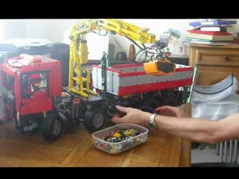camion grue wip youtube. Black Bedroom Furniture Sets. Home Design Ideas