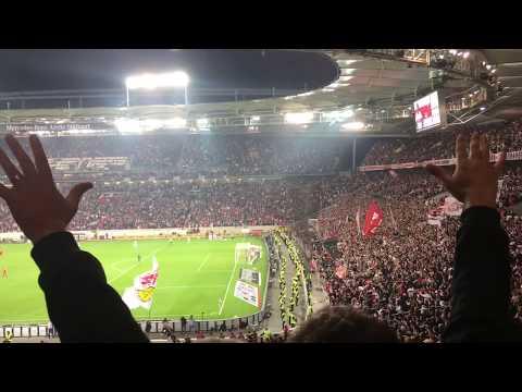 Last minute Sieg des VfB Stuttgart gegen den 1. FC Köln
