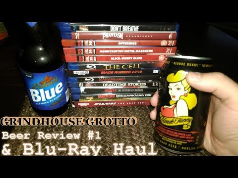 March 31st 2018 Beer Review #1 & Blu Ray Haul