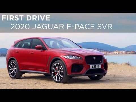 First Drive | 2020 Jaguar F-Pace SVR | Driving.ca