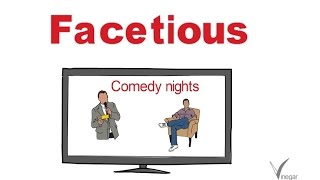 Facetious -meaning in English and Hindi with usage