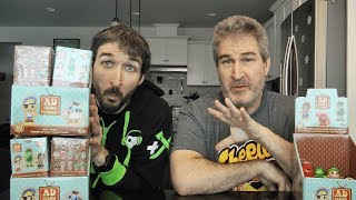 Unboxing Two Cases Of Funko Ad Icons Mystery Minis!