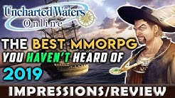 The BEST MMORPG You Haven't Heard Of in 2019? - Uncharted Waters Online [Impressions]
