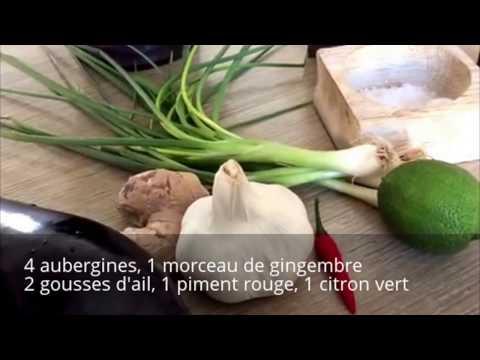 aubergines-à-la-vapeur-au-gingembre
