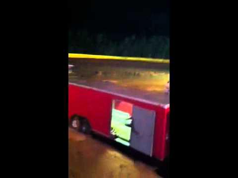 Jeremy Strunk at Lake Cumberland Speedway