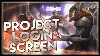 PROJECT Yi Login Screen with Music - League of Legends Music