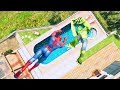 GTA 5 SPIDERMAN/Ragdolls Falls compilation #11 (GTA 5 Fails Funny Moments/Ragdolls)